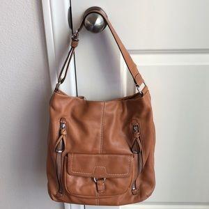 Banana Republic Leather Hobo Purse Bag